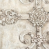 Iron Scroll - Antique Ivory CRYSTAL 3