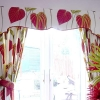 Bight Floral Kitchen Curtains