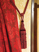 Red Curtain Detail